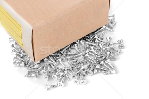 Csoport cink izolált fehér építkezés ipari Stock fotó © kokimk