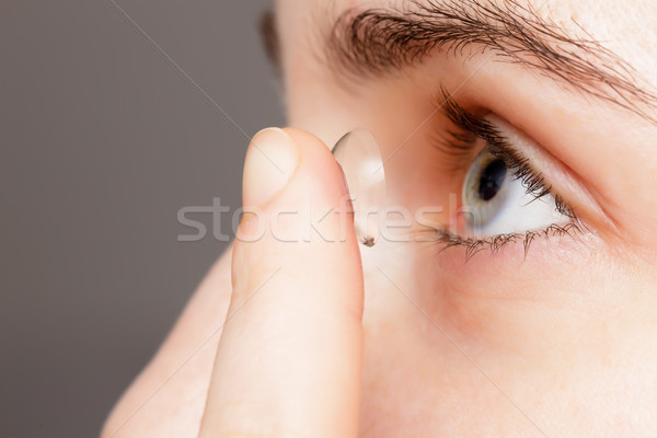 Contact lenses - convenient way for solving problems with vision Stock photo © koldunov