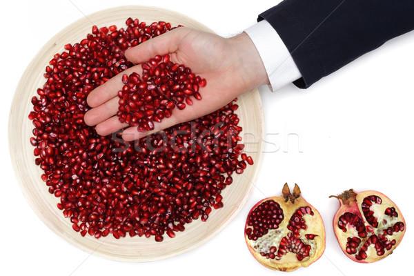 ビタミン 冬 食品 生 フル プレート ストックフォト © koldunov
