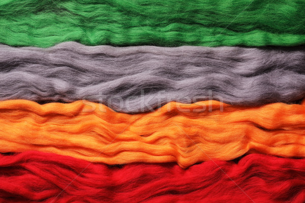 Background from wool. Different colours Stock photo © koldunov