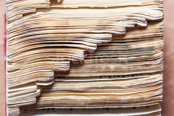 辞書 図書 学校 抽象的な ストックフォト © koldunov