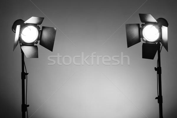 Ausrüstung Foto Mode Fotografie leer Studio Stock foto © koldunov