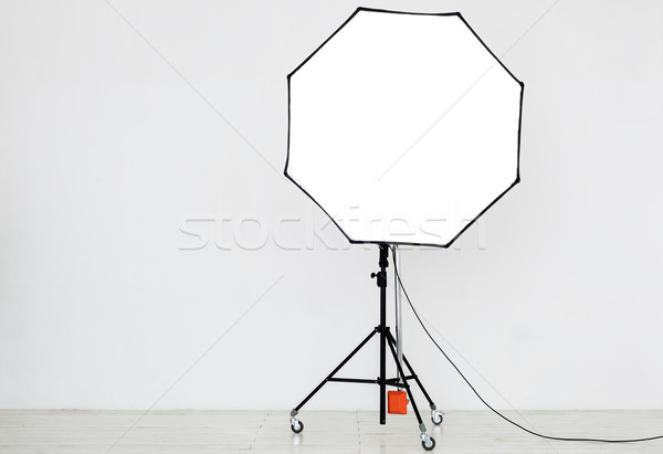 Photographic lighting in an empty studio Stock photo © koldunov