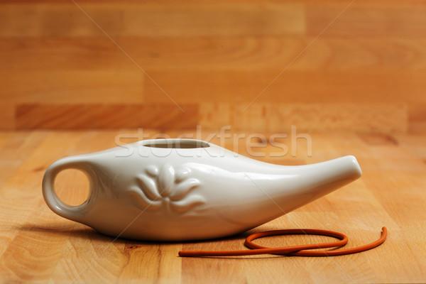 洗浄 ボディ かんがい 水 ゴム ストックフォト © koldunov