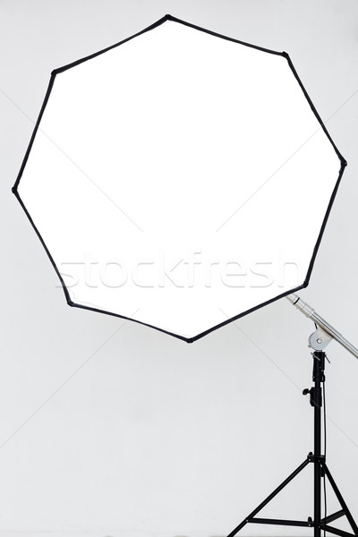 Photographic lighting in an empty studio Stock photo © koldunov