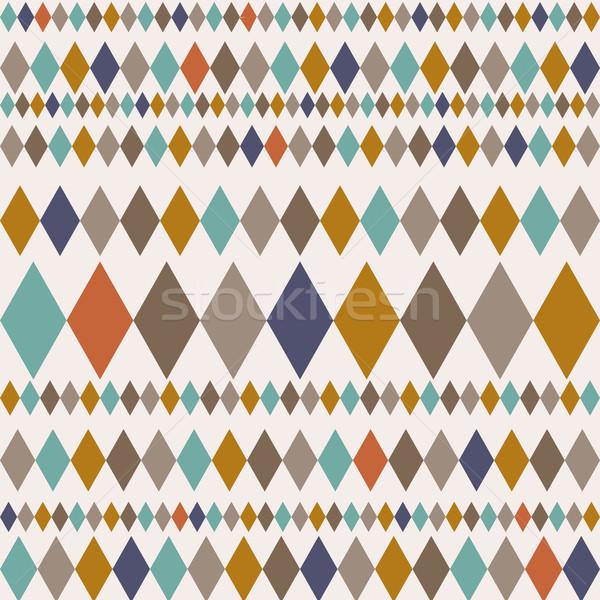 Moderna elegante textura geométrico ornamento Foto stock © kollibri
