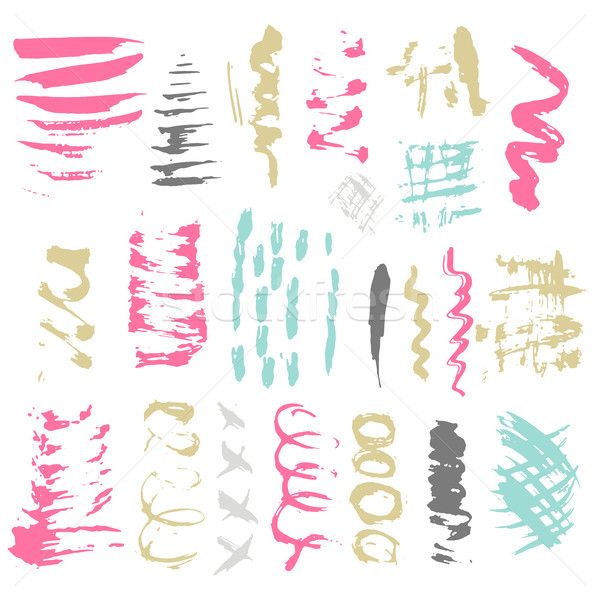 Stock photo: Brush Stroke.Brush Collection.Brush Grunge.Brush Stroke.Brush Vector.Brush Stroke.Brush Line.Brush S