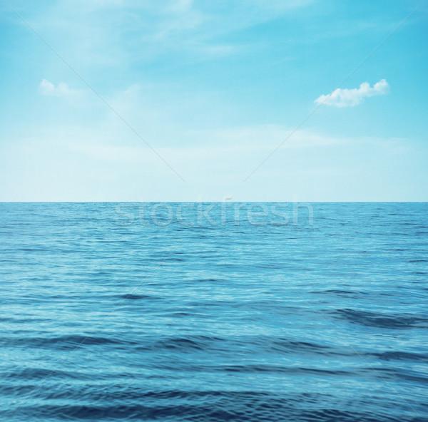 Calme mer bleu eau océan printemps Photo stock © konradbak