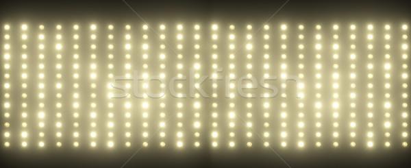 Hundreds of tiny light bulbs Stock photo © konradbak