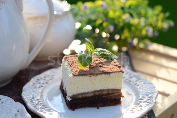 Sweet служивший ароматный саду лет продовольствие Сток-фото © konradbak
