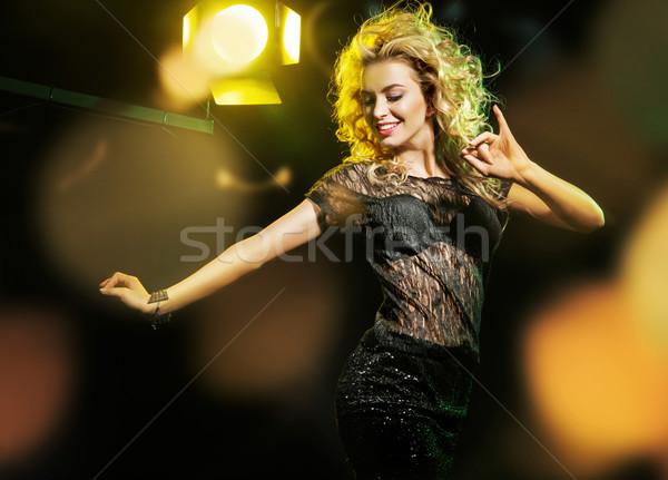 Portrait of the alluring young lady Stock photo © konradbak