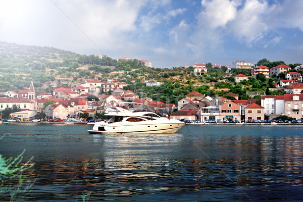 Speed boat in Croatia  Stock photo © konradbak