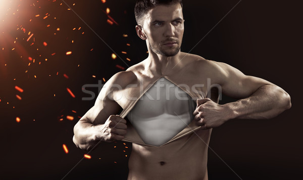 Conceptual photograph of a human dummy Stock photo © konradbak