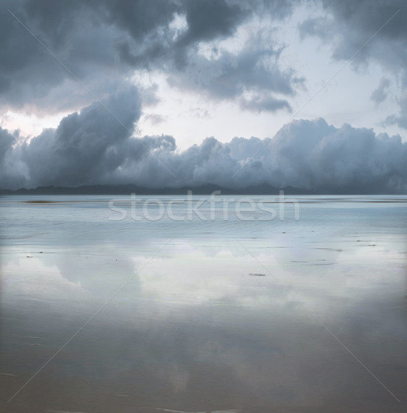 Photo stock: Belle · marin · plage · ciel · eau · nature