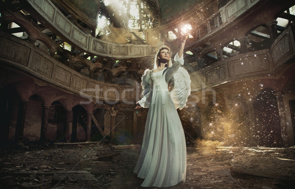 Beautiful angel Stock photo © konradbak