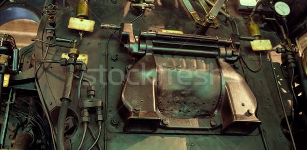 Picture presrenting the old machine Stock photo © konradbak