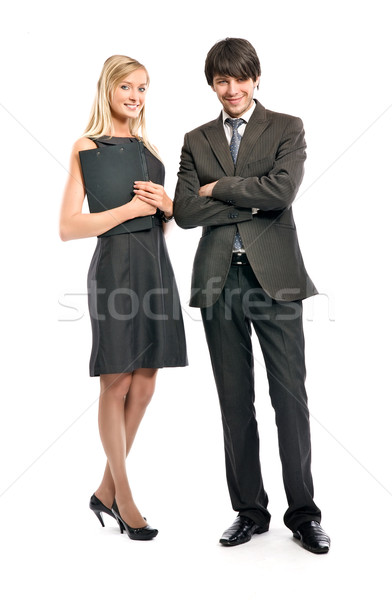 Portrait of business people Stock photo © konradbak