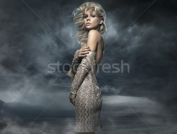 Stock photo: Photo of a beautiful lady