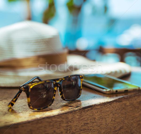 Wakacje tropikalnych plaży wiosną Zdjęcia stock © konradbak