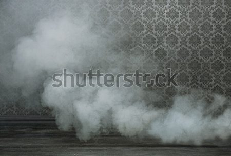 Edad habitación humo denso diseno negro Foto stock © konradbak