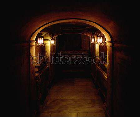 Ancient basement Stock photo © konradbak