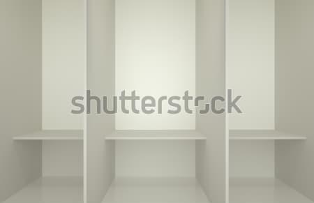 Picture presenting the changing room Stock photo © konradbak
