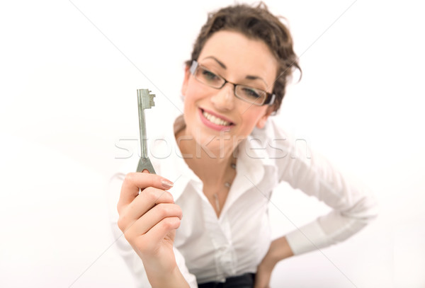 Key to success Stock photo © konradbak