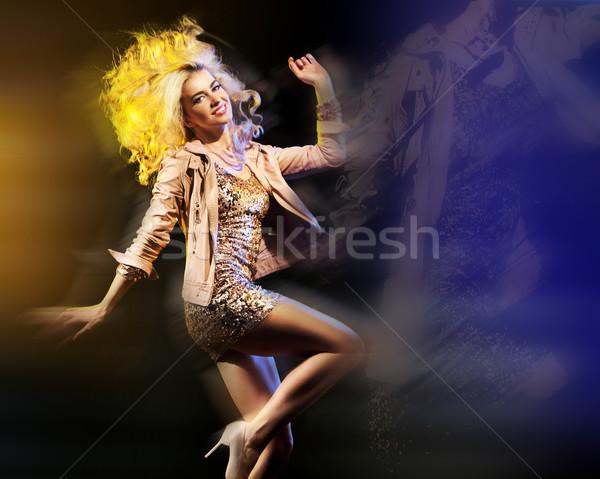 Foto d'archivio: Arte · foto · partying · signora · donna · musica