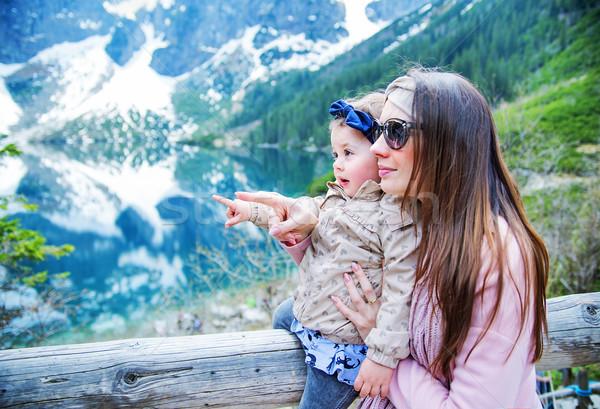 Foto d'archivio: Madre · baby · famiglia · estate · vacanze