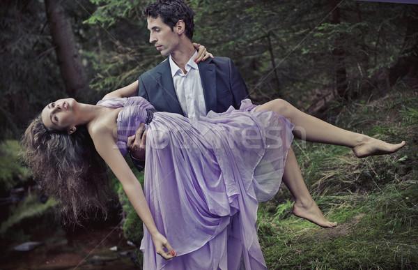Romantic couple Stock photo © konradbak