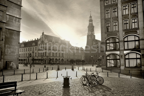 photo of a beautiful city Stock photo © konradbak