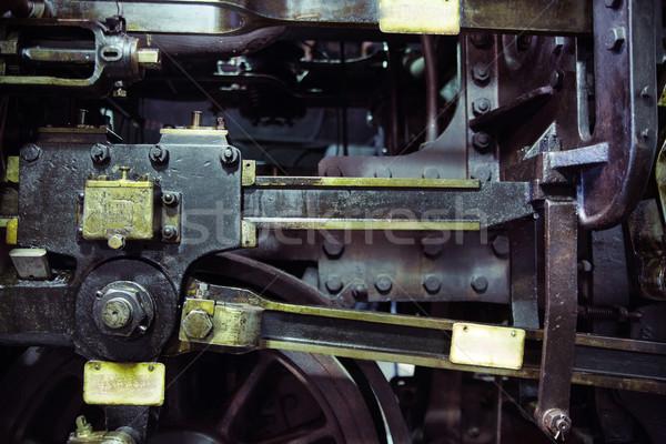 Picture presenting the old machine Stock photo © konradbak