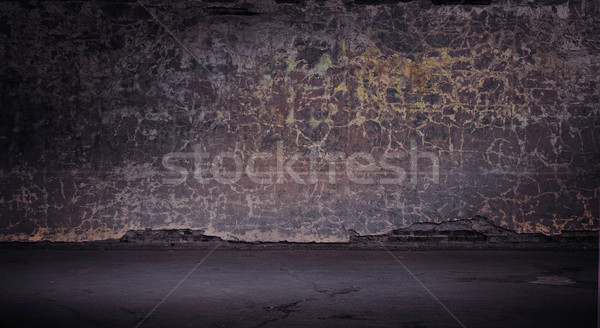 Wide grunge vintage background, Stock photo © konradbak