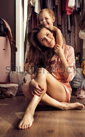 Mode style photo séduisant couple amour Photo stock © konradbak