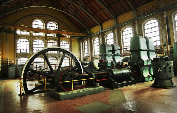 Industrial machines Stock photo © konradbak