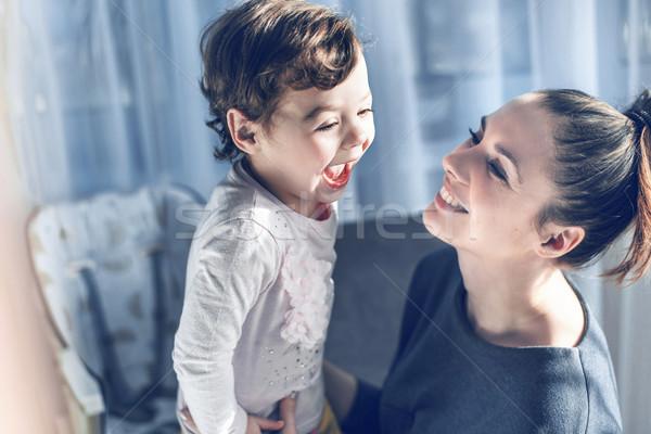 Madre amato bambino figlia Foto d'archivio © konradbak