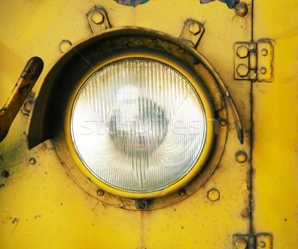 Picture presenting the car reflector Stock photo © konradbak