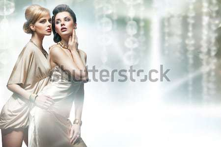 Realxed couple resting in the quiet place Stock photo © konradbak
