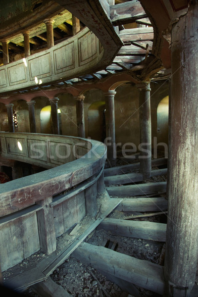 Stock photo: Old theatre