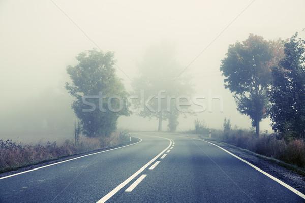 Early morning on the road Stock photo © konradbak
