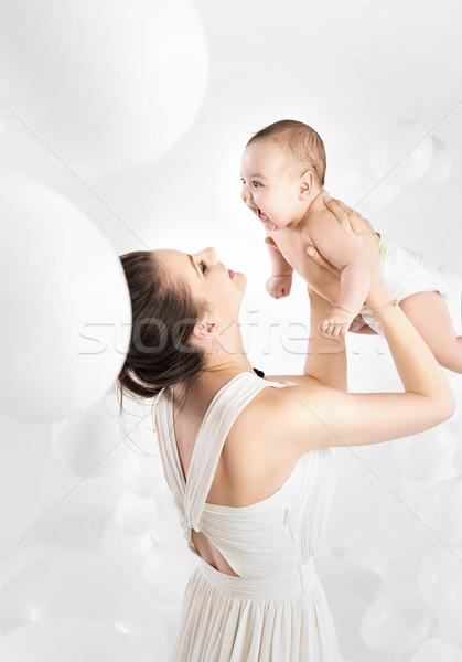 Bella mamma amato figlia Foto d'archivio © konradbak