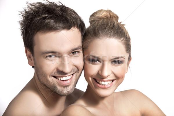 портрет счастливым женат человека свет расслабиться Сток-фото © konradbak