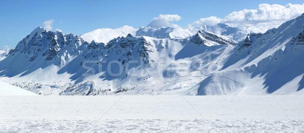 Picture of the fine mountainaous view Stock photo © konradbak
