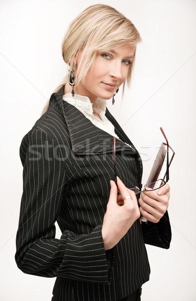 Сток-фото: улыбка · работу · портрет · работу · успех · женщины