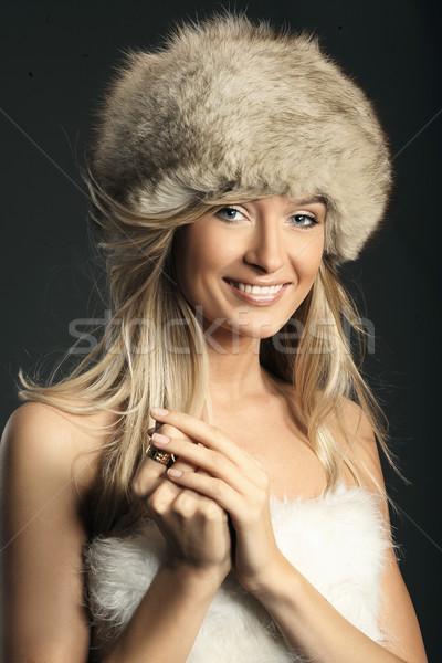 Moda stil fotoğraf genç eller Stok fotoğraf © konradbak
