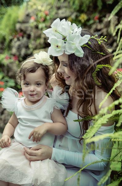 Arte foto madre bambino amato Foto d'archivio © konradbak