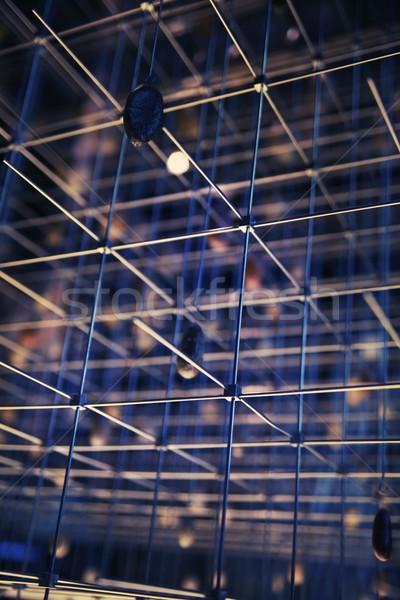 Industrial background Stock fotó © konradbak