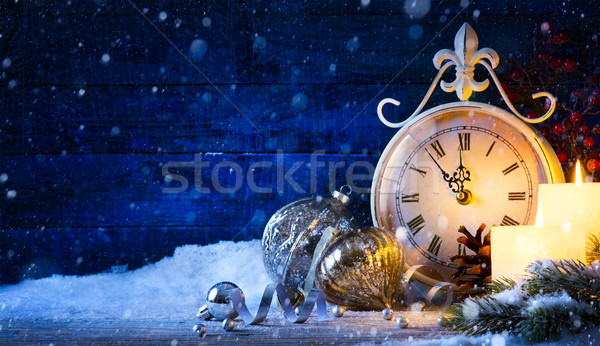 фке Christmas holiday eve Stock photo © Konstanttin