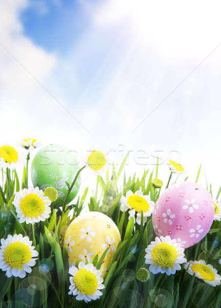 Art Easter Greeting Card Stock photo © Konstanttin