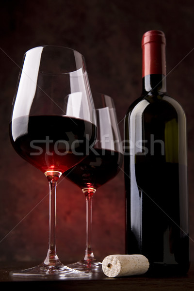 red wine  Stock photo © Konstanttin